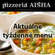 Aktuálne týždenné menu